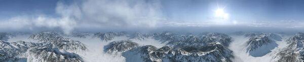 Tyrann Mountains Panorama