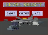 Level Select (ace combat arcade)