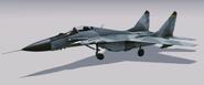 MiG-29A Fulcrum Hangar