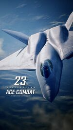 Ace Combat 23rd Anniversary Wallpaper