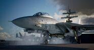 F-14D AC7 catapult