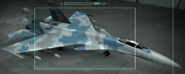 Su-35 Osea color Hangar