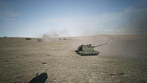 Erusean Army 2S19 Msta