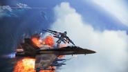 FA-18F Beast flyby 3
