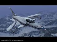 ACE COMBAT 5 X-29A Profile