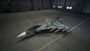 Gripen E AC7 Color 2 Hangar