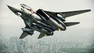 F-14D VF-1S Flyby 2