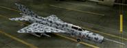 MiG-21bis Special color hangar
