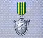 Ace x mp medal silver defender