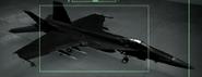 F A-18E Razgriz color Hangar