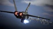 AC7 Super Hornet EML Firing