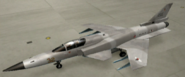 X-29A Mercenary color hangar