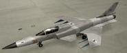 X-29A Mercenary color hangar