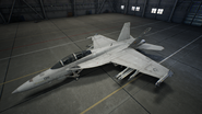 FA-18F AC7 Color 4 Hangar