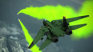F-14D Green Trails