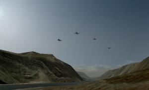 Ofnir Squadron breaking formation in Payavlenie Ravine