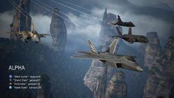 AC7 Team Deathmatch Intro Alpha