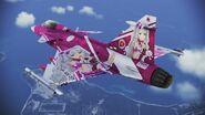 Gripen C -TAKANE- flyby 3