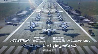 Ace Combat 25th Anniversary Promo