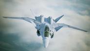 X-02S Strike Wyvern Flyby No Emblem 8