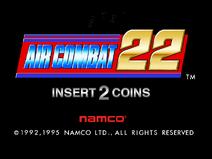 Aircombat22 start screen