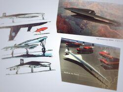Ace Combat 3 Concept Art