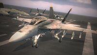 Emmerian Navy Hornets On Carrier