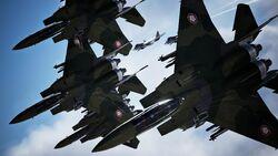 Erusean Squadron Over Artiglio