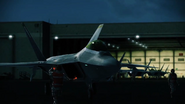 F-22A Preparing For Takeoff