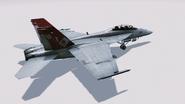 FA18F Red Devils Hangar 2