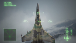 Su-35 Post Stall Maneuver AC7