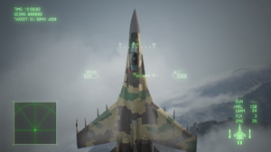 Su-35 Post Stall Maneuver AC7