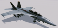 FA-18F -Avalanche- Hangar