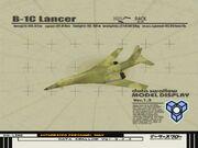 B-1C Lancer II model viewer