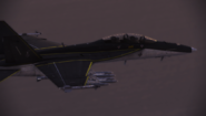 FA-18F -Black Hornet- Flyby