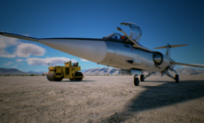 F-104 Frontview