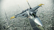 ACAH Su-37 Color 3 Flyby