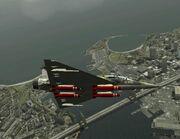 Mirage 2000D with NTRL bomb (AC5)