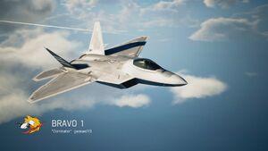 AC7 F-22A Battle Royal Intro
