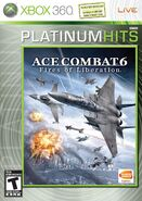 Ace Combat 6 Platinum Box Art North America