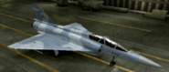 Mirage 2000D Soldier color hangar