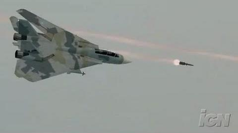 Ace Combat X Skies of Deception Sony PSP Trailer -