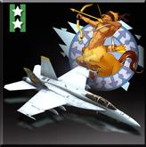 FA-18F -Sagittarius- Icon