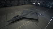 YF-23 AC7 Color 2 Hangar