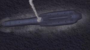 Hrimfaxi launching burst missile