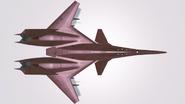 ADF-01 ZOE top view