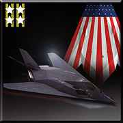 F-117A -Stars and Stripes- Icon