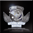 Silver Wolf Battle Emblem Icon