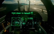 VR Demo Takeoff Cockpit 2