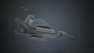 AC7 F-22A SU-30SM Flyby